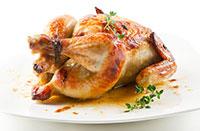 цыпленок фермерский запеченный