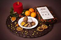 мандарин в шоколаде