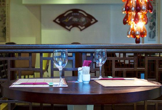 интерьер ресторана чайна тун