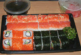 Упаковка для доставки Империя суши