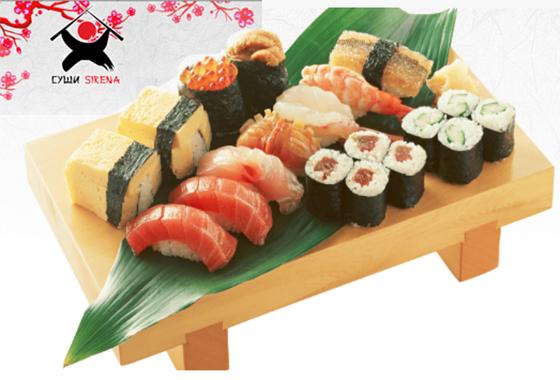 ресторан суши sirena